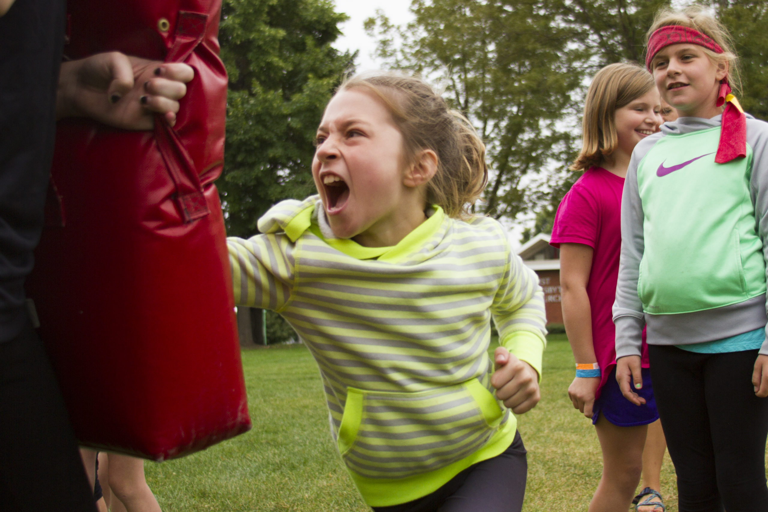 Girls Ninja Warrior Camp